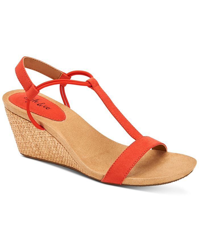 Style & Co - Mulan Wedge Sandals