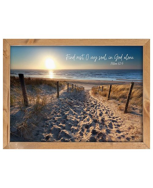 P Graham Dunn Find Rest, O My Should, In God Alone Wall Art