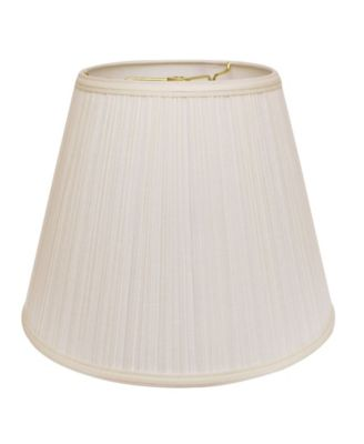 Slant Deep Empire Hardback Lampshade with Washer Fitter