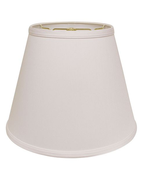 Cloth&Wire Slant Deep Empire Hardback Lampshade with Washer Fitter