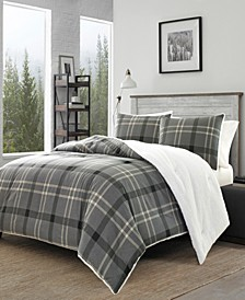 Yarrow Point Grey Comforter Collection
