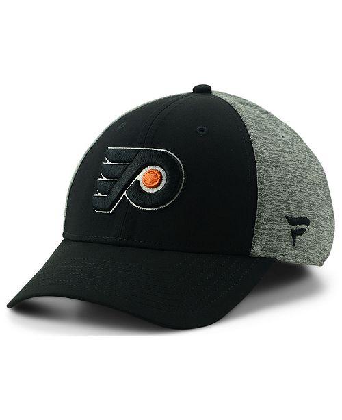 Authentic NHL Headwear Philadelphia Flyers Spring Flex Stretch Fitted Cap