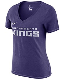 Women's Sacramento Kings Dri-Fit V-neck T-Shirt