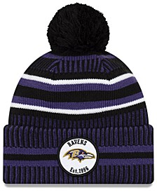 Little Boys Baltimore Ravens Home Sport Knit Hat