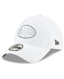 San Francisco 49ers On-Field Platinum 39THIRTY Stretch Fitted Cap