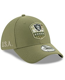 Oakland Raiders On-Field Salute To Service 39THIRTY Cap