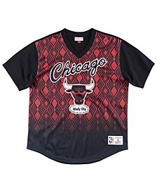 Men's Chicago Bulls Winning Shot Mesh V-Neck Shirt