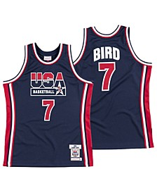 Men's Larry Bird Authentic USA Jersey