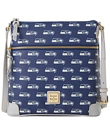 Seattle Seahawks Saffiano Large Crossbody