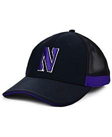 Northwestern Wildcats Blitzing Flex Cap