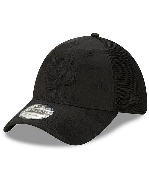 New Era Cincinnati Bengals Camo Front Neo 39THIRTY Cap