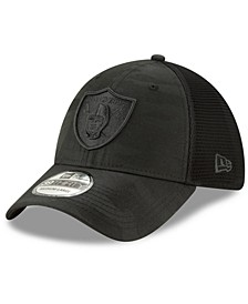 Oakland Raiders Camo Front Neo 39THIRTY Cap