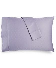 Bergen House Diamond Dot 100% Certified Egyptian Cotton 1000 Thread Count Pillowcase Pair, King