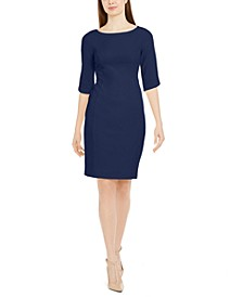 Bateau-Neck Dress