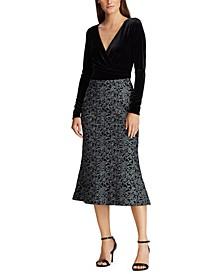 Velvet-Lace Dress