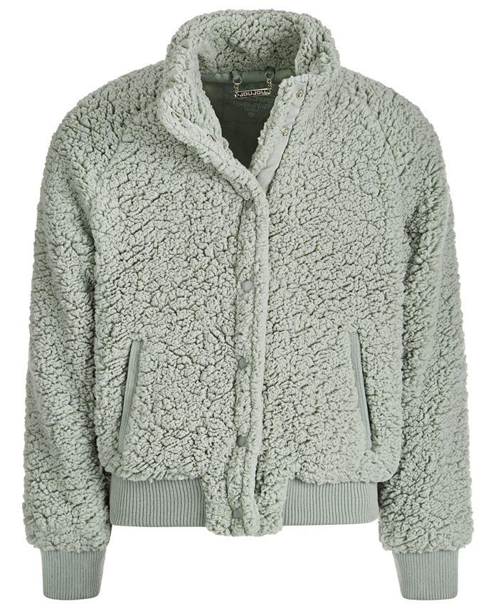 Jou Jou - Big Girls Fleece Snap Jacket