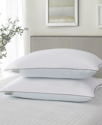 2 pack Park Avenue Jumbo Down and Feather Pillow