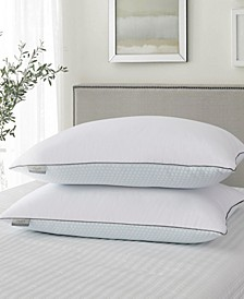 Summer-Winter White Goose Feather Pillow 2-Pack