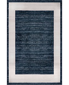 Yorkville Uptown Jzu007 Navy Blue Area Rug Collection