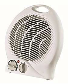 H-1322 Portable 2-Speed Fan Heater with Thermostat