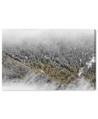 Overhead Golden Forest Canvas Art, 15