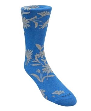 Men's Large Floral Dress Sock