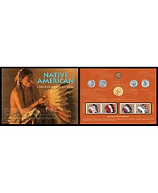 Native American West Coin Stamp Collection