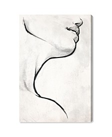 White Contour Canvas Art Collection