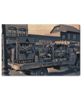 Beer Truck Canvas Art, 45