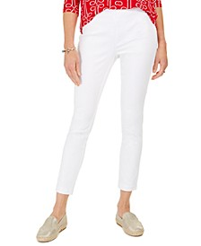 Petite Chelsea Stretch Twill Cropped Pants, Created for Macy's