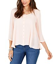 Style & Co Swing Blouse, Created For Macy's