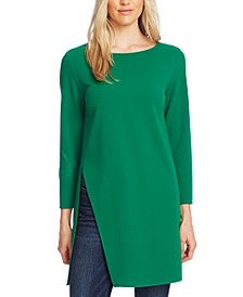 Split-Hem Tunic Top