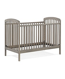 Straw 3-In-1 Convertible Crib