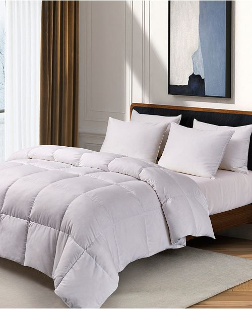 Kathy Ireland White Feather Down Full/Queen Comforter
