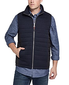 Men's Quilted Sweater Vest