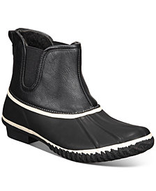Style & Co Heidie Duck Booties, Created for Macy's