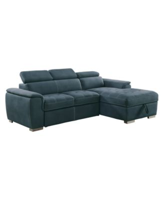 Welty 2pc Sectional Sofa w/ Accent Chair