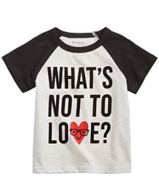 Baby Boys Love-Print T-Shirt, Created For Macy's