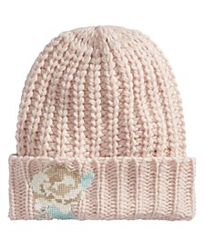 Everything Rosy Embroidered Knit Hat