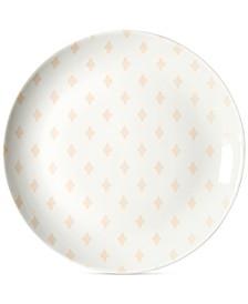 Blush Quatrefoil Salad Plate