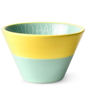 by Laura Johnson Mint Hello Happy Appetizer Bowl