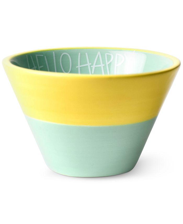 Coton Colors - Mint Hello Happy Appetizer Bowl