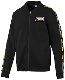 Men's Logo Fleece Bomber Jacket