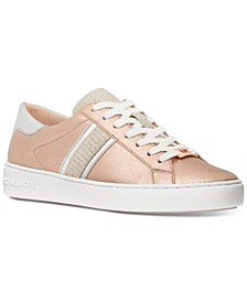 Keaton Side-Striped Lace Up Sneakers