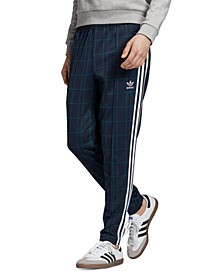 adidas Men's Originals Plaid Track Pants