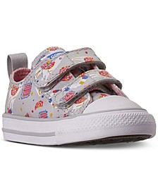 Toddler Girls Chuck Taylor All Star Llama 2V Stay-Put Closure Casual Sneakers from Finish Line