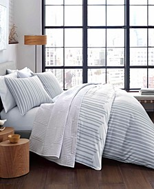Wilkinsin Stripe Full/Queen Duvet Cover Set