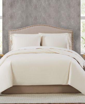 400TC Percale Cotton King Duvet Set