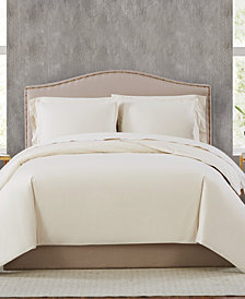 Charisma 400TC Percale Cotton King Duvet Set