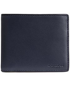 Men's Leather ID Wallet